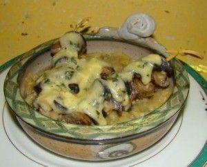 Les escargotes du Cantal un plat original de la Tables d'hôtes