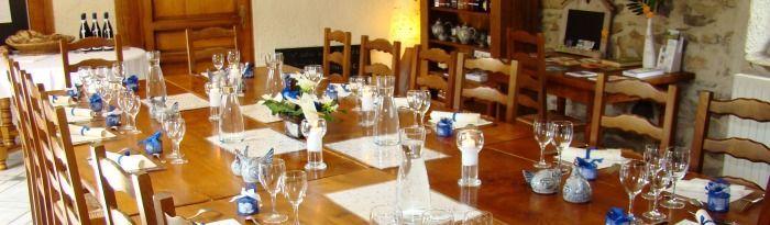 auberge salle de restaurant à Blesle