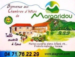 Réservez votre séjour en Maison d'hôtes en Haute-Loire à Blesle