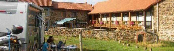 Accueil des camping-caristes France Passion en Aubergne et maison d'hôtes