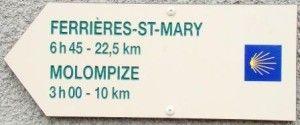 Gite sur chemin Saint-Jacques Via Arverna dans le Cantal