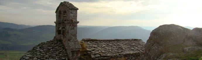 Chapelle de Rochegude : Art Roman vallée de l'Allier