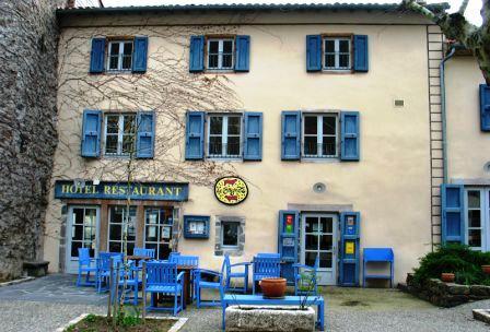 Hôtel restaurant de Gérard Klein à Blesle en Haute-Loire