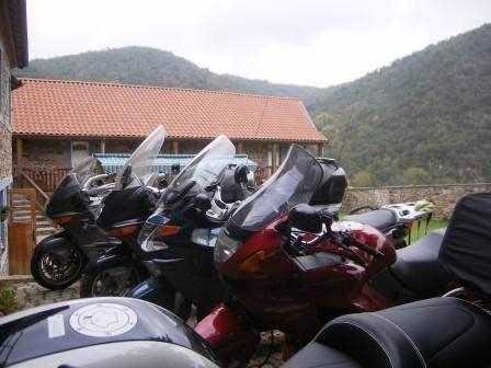 Gites avec parking pour les motos Puy de Dôme