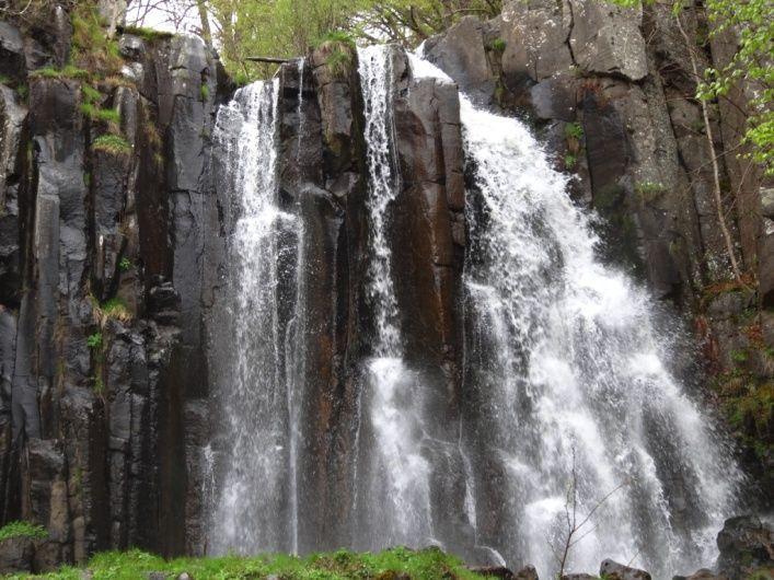 Cascade de la Terrisse à Vèze Cantal