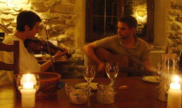 Charlie et Marie-Ange Leroux de la Brasserie de l'Alagnon à Blesle