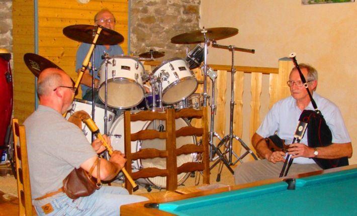 musique en chambres d'hôtes en Auvergne