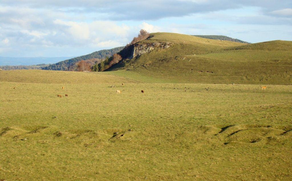 Tras ou tracs , ancêtre du Buron en Auvergne pour les bergers en estives