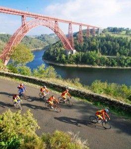 gîtes et chambres d'hôtes pour cyclistes en Auvergne