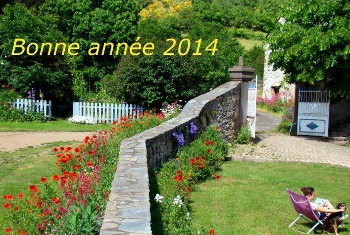 Bonne année 2014 en chambres d'hôtes à Blesle en Auvergne