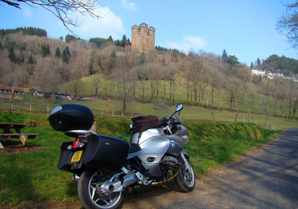 Château de Tournemire dans le Cantal en Auvergne