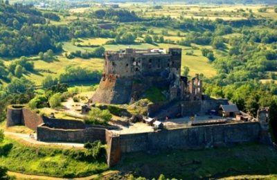 Visite animée du château de Murol en auvergne
