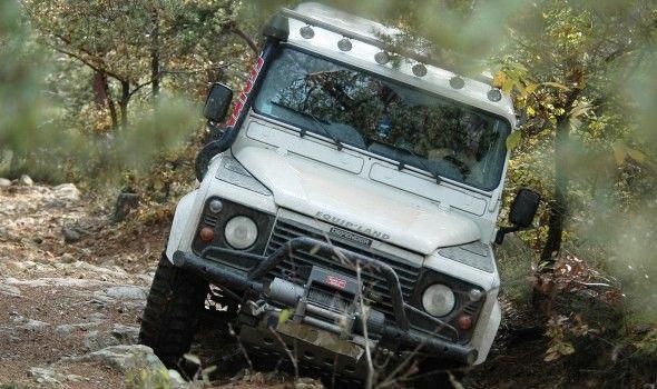 Sur les chemins de l'Auvergne en véhicule 4x4 lors du Bouclier Arverne