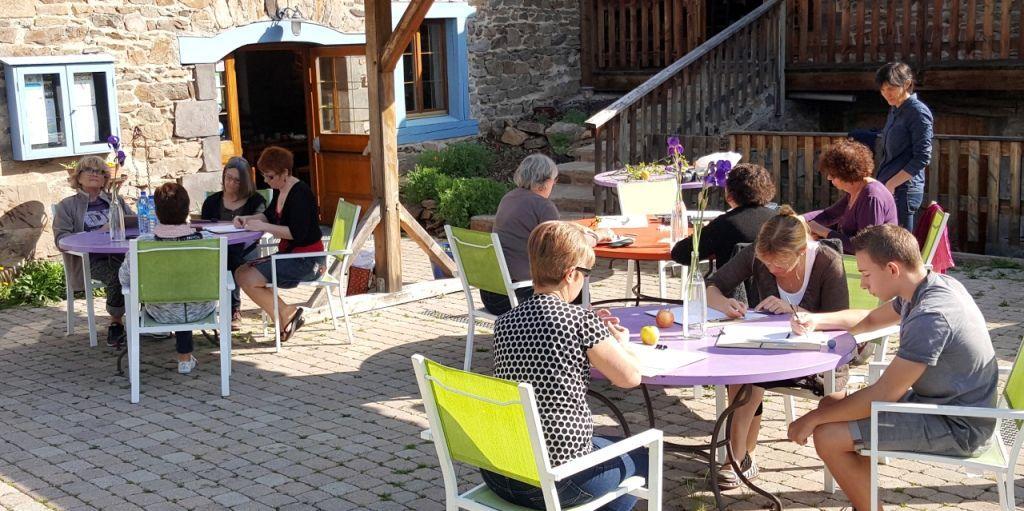 stage de peinture et d'aquarelle en Auvergne