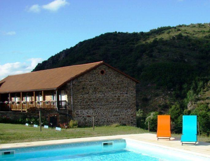 Chambres d'hôtes avec piscine en haute loire