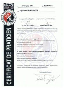 formation shiatsu par praticien certifié fédération nationale de shiatsu